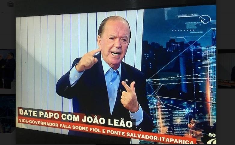 Leão diz que se for candidato ao governo da Bahia ganhará no 1º turno